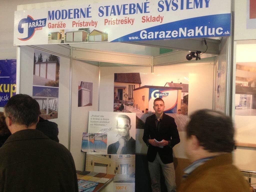 Garáže na Kľúč.sk na výstave