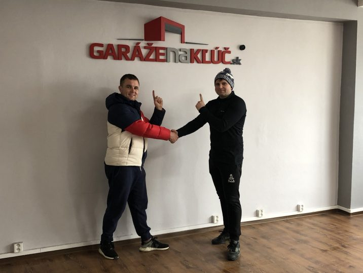 Logo Garáže na kľúč.sk