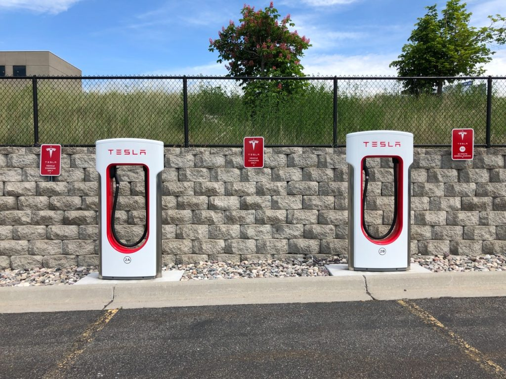 Nabíjacia stanica Tesla