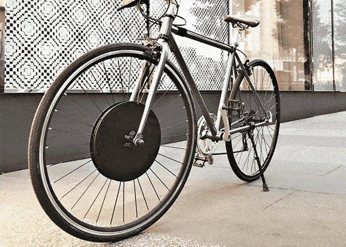 Elektrobicykel v retro dizajne