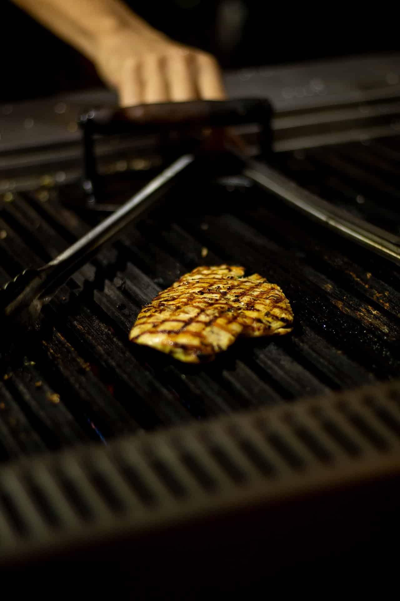 Grilovanie kuracieho mäsa