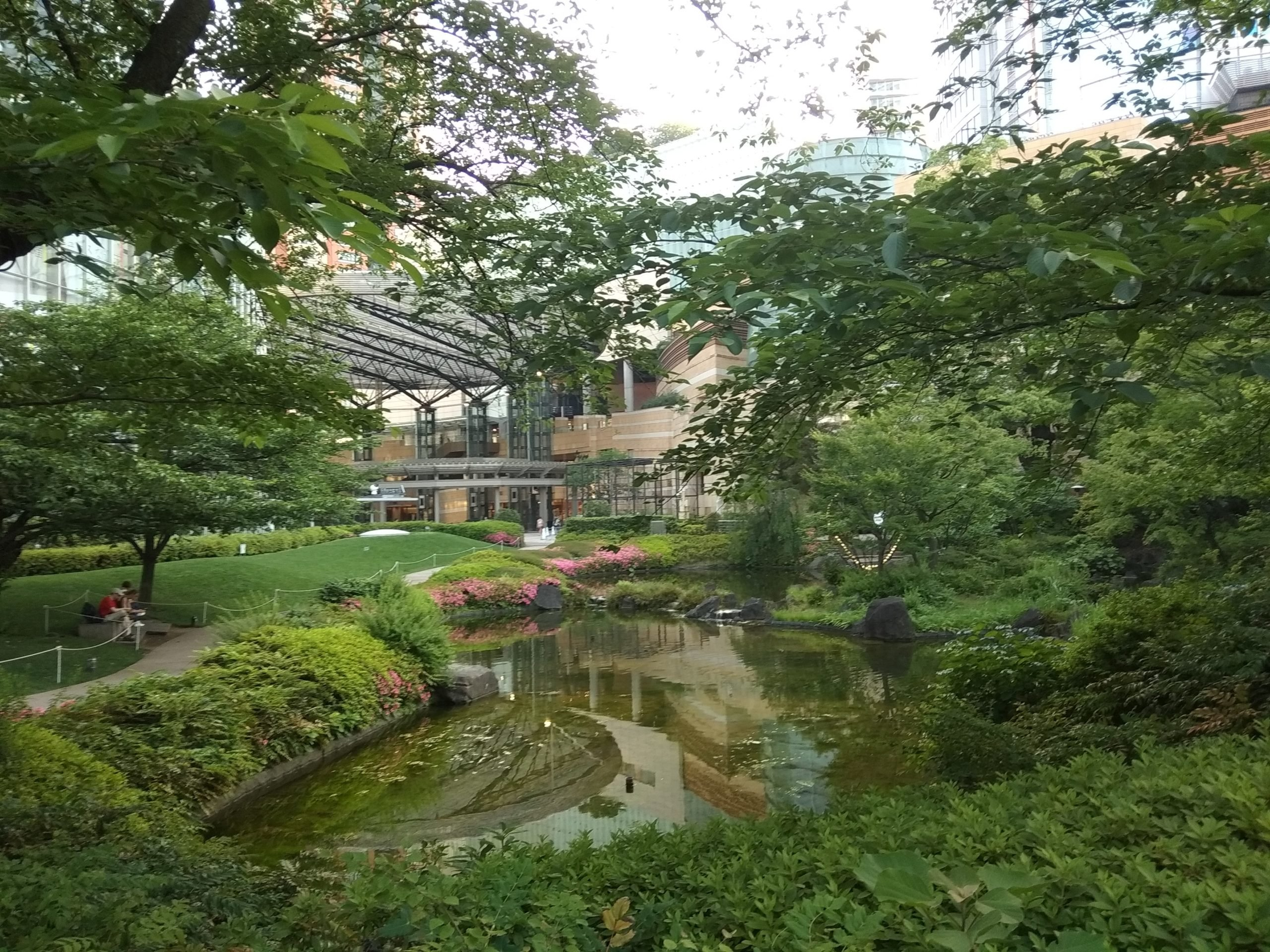 Zeleň v Japonsku