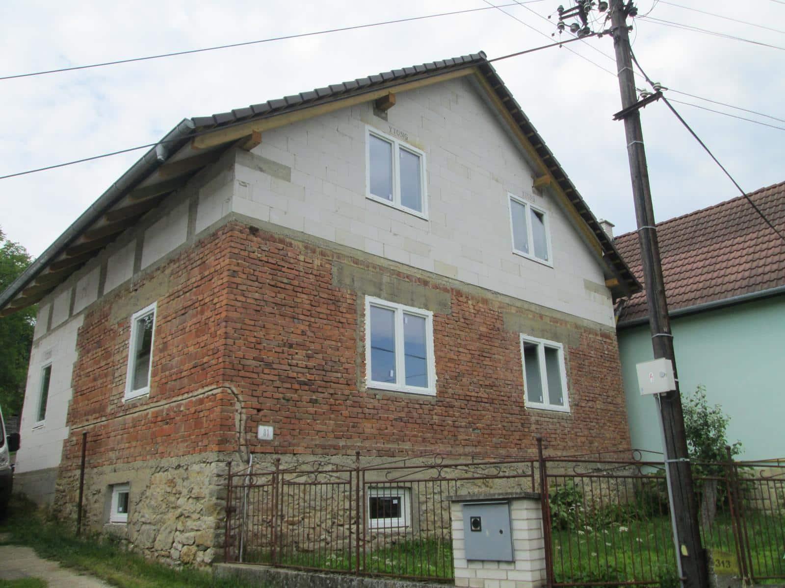 Prerábka domu s nadstavbou