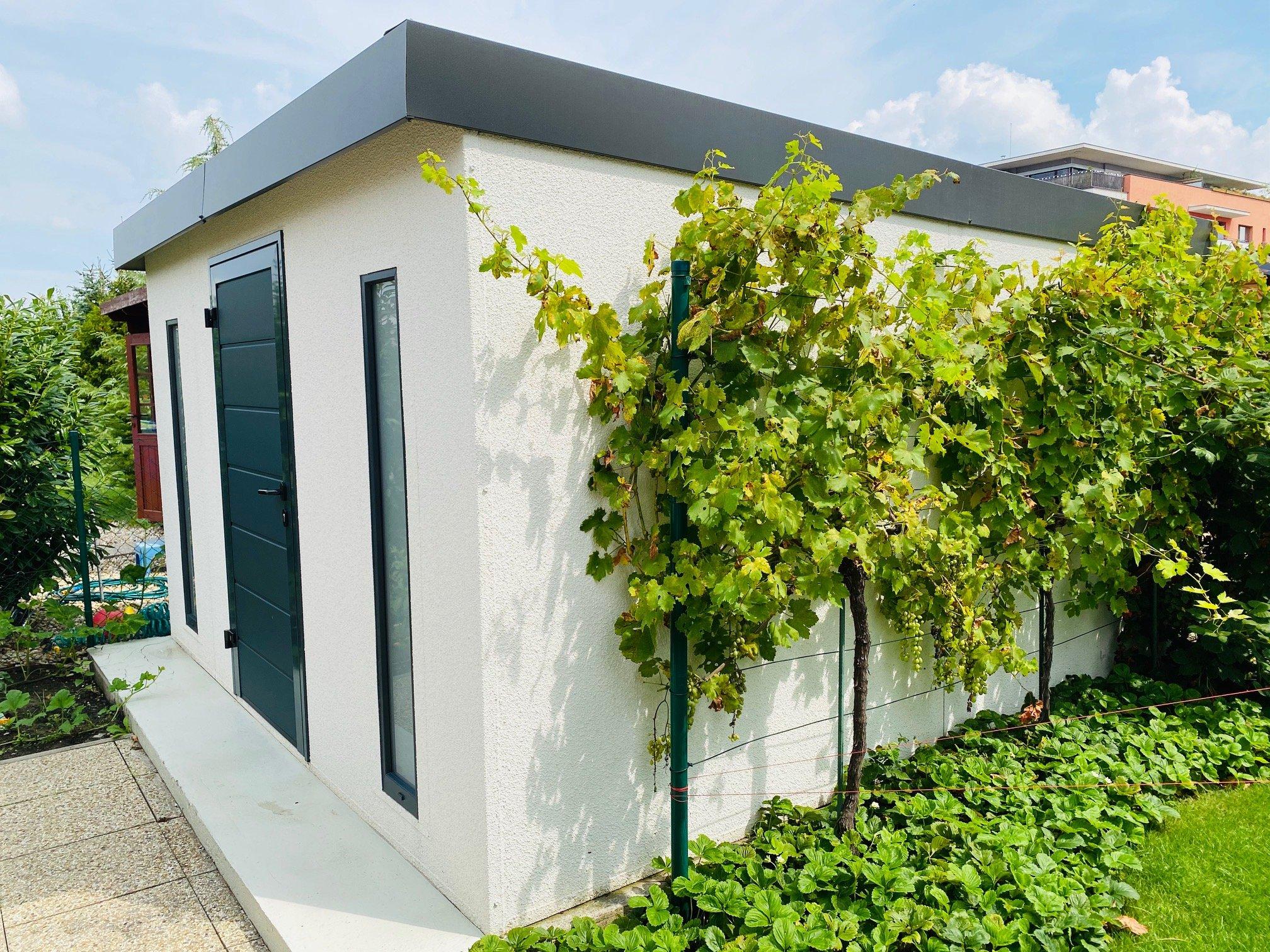 Záhradný domček GARDEON s rovnou strechou