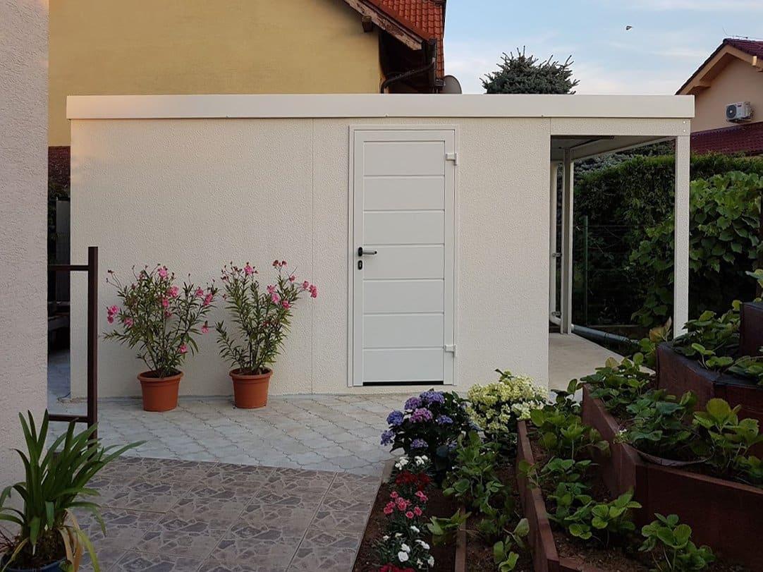 Biely záhradný domček GARDEON