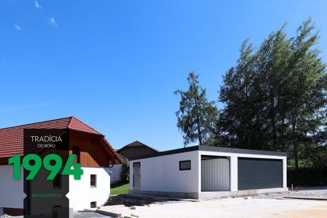 Montovaná garáž GARDEON pre tri autá