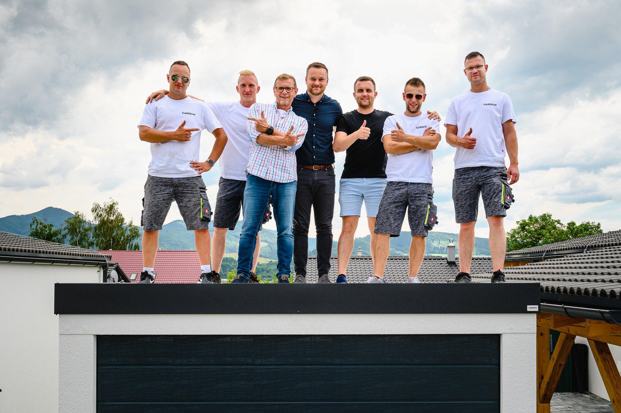 Team GARDEON s Vladom Voštinárom