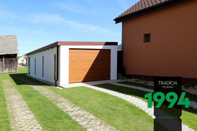 Atypická garáž zpredu