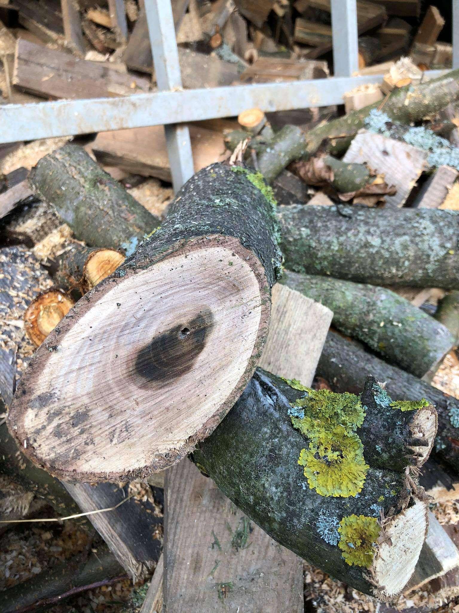 Odštiepené drevo