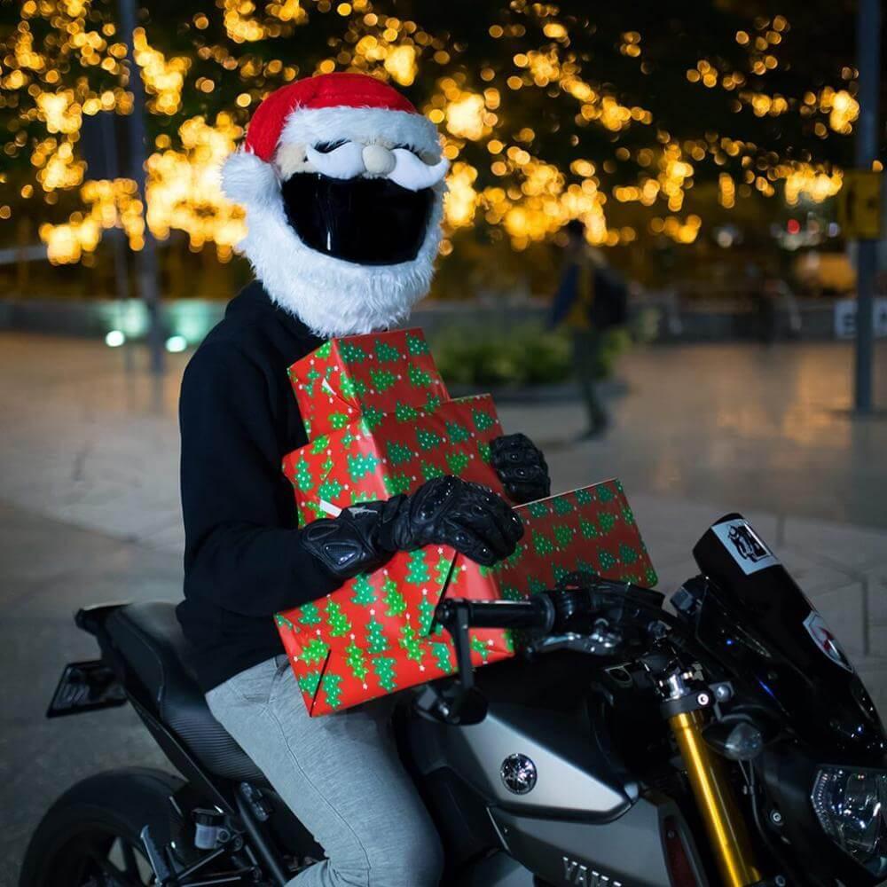 Návlek na helmu Santa Claus