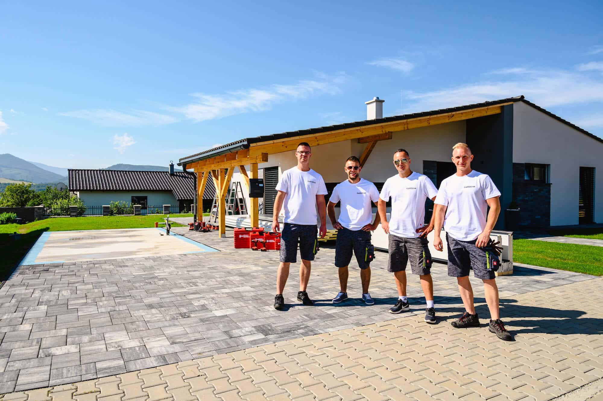 Martin Muller, Martin Solčány, Marek Jesenský, Maroš Švec