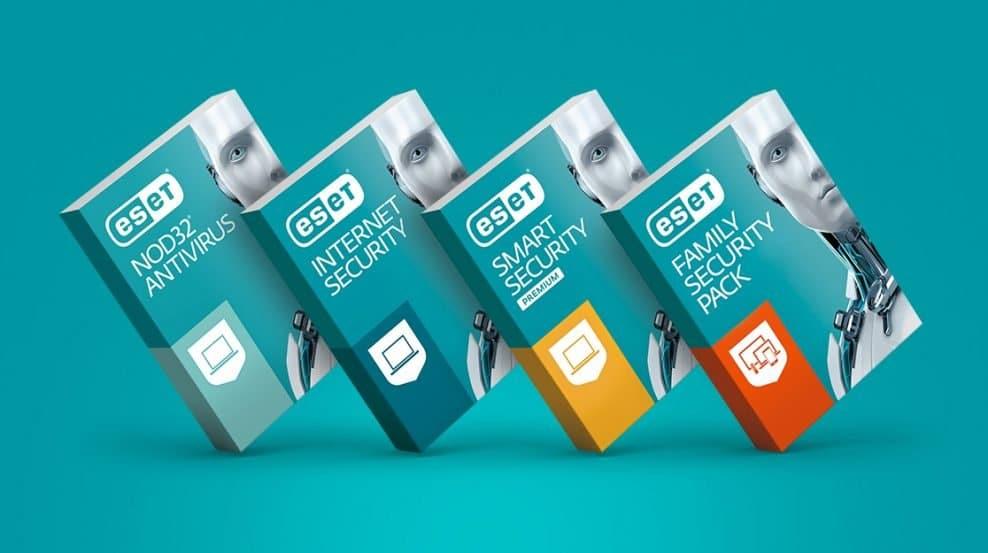 Produkty spoločnosti ESET