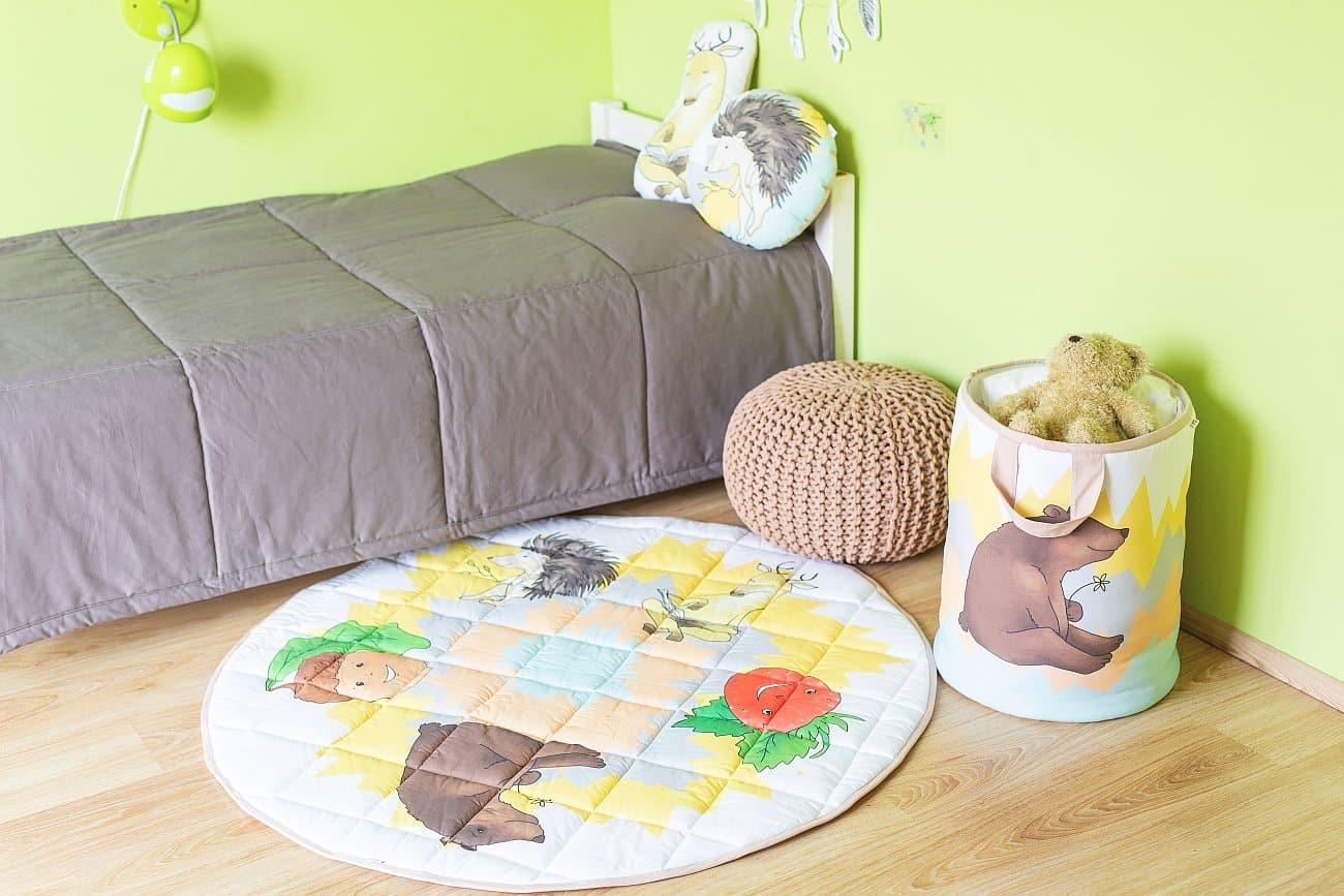 Izba zariadená produktami Tuli