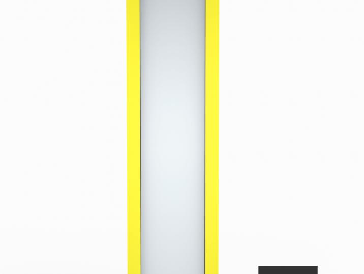 Svetlík GARDEON v citrónovo žltej farbe