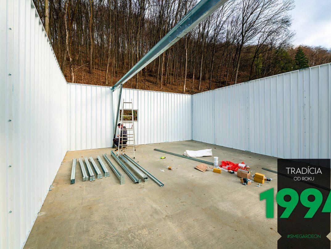 Náradie pre montovanie garáže