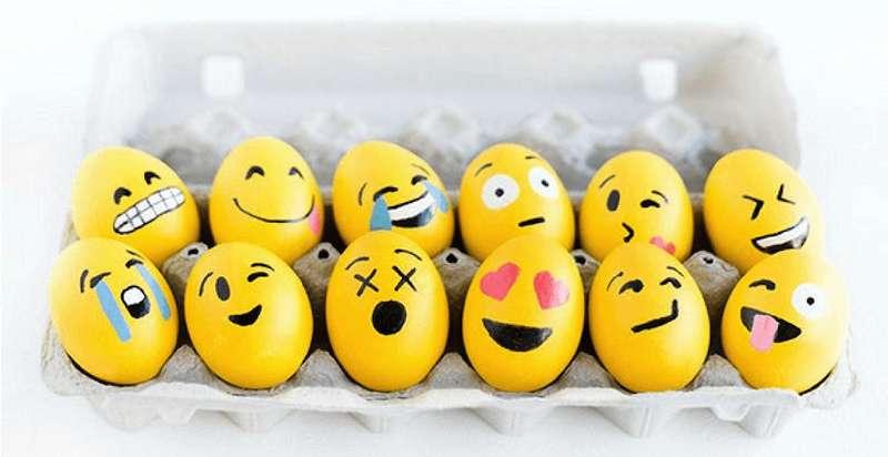 Žlté vajíčka emoji