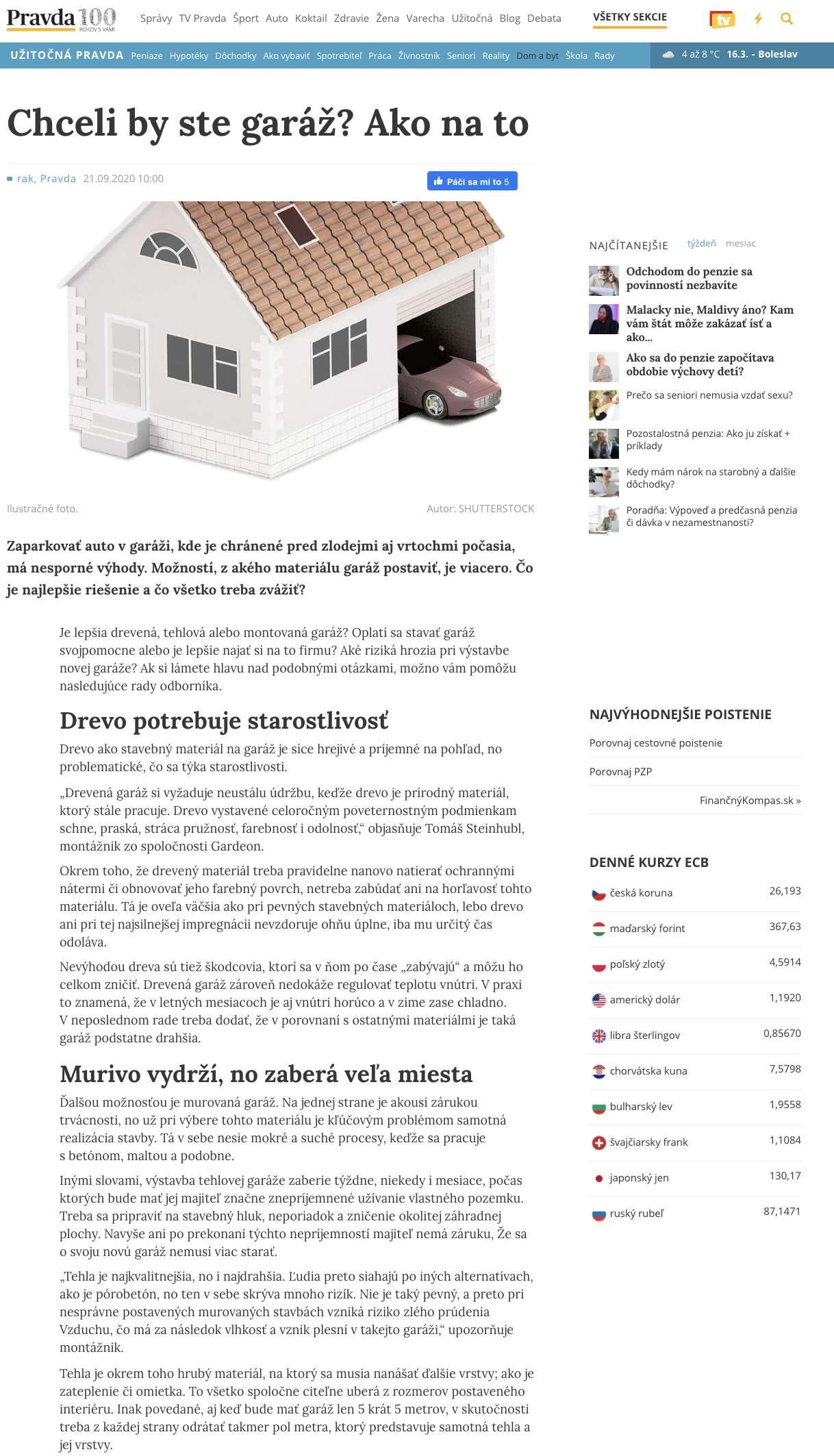Článok na pravda.sk