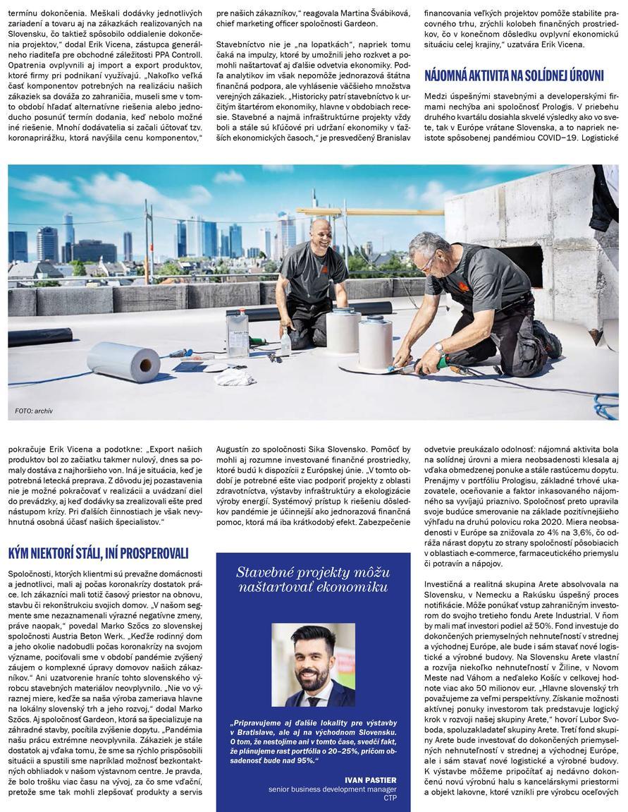 Článok v časopise Systémy Logistiky