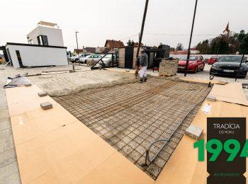 Príprava podkladu na stavby