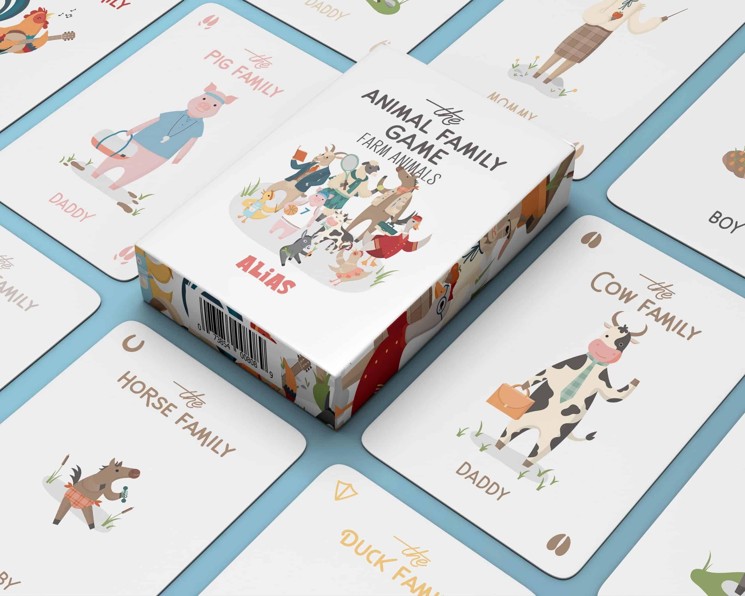 Karty pre rodinu o zvieratkách