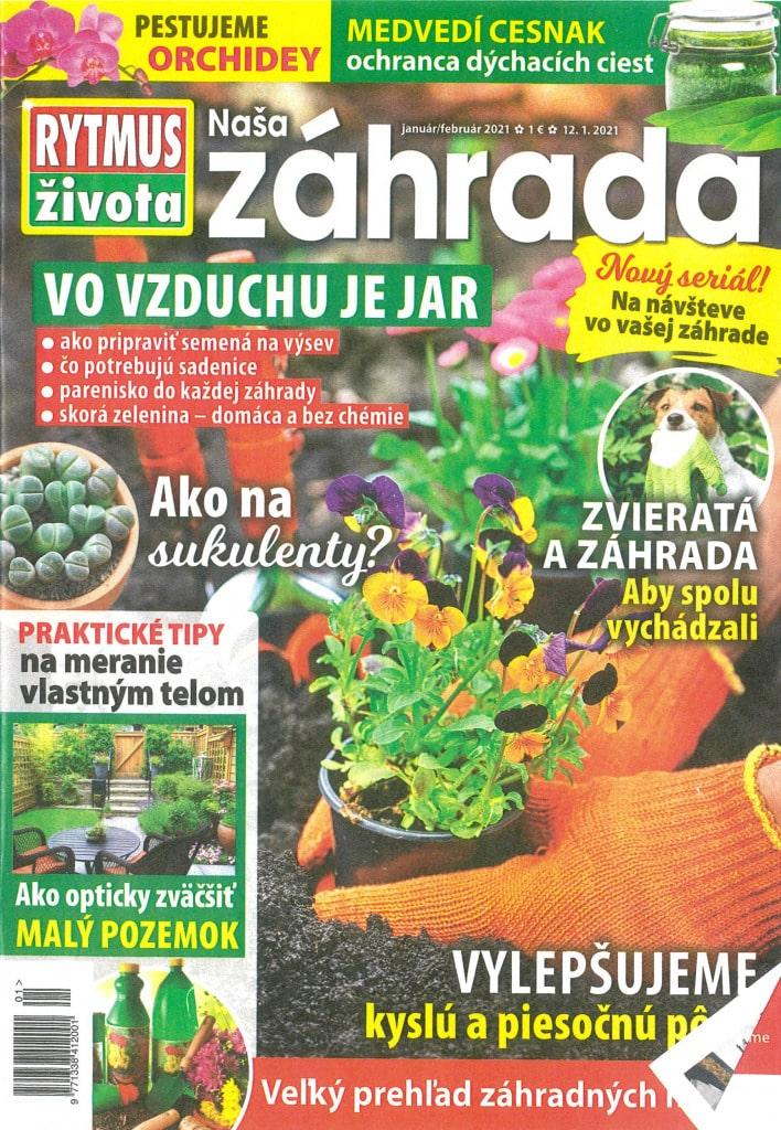 Gardeon v časopise Rytmus života Naša záhrada