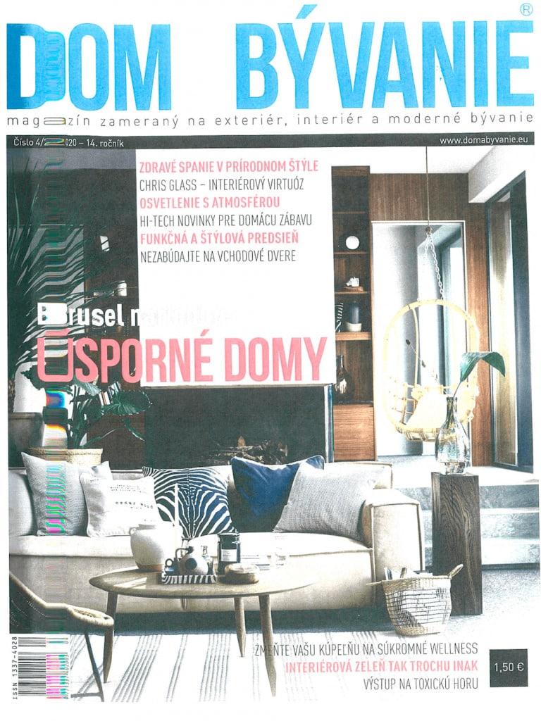 Gardeon v časopise Dom a Bývanie