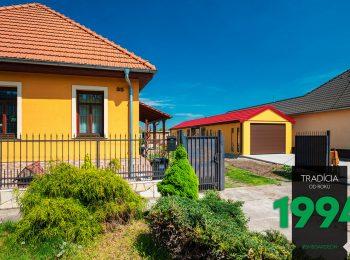Atypická garáž pri žltom dome