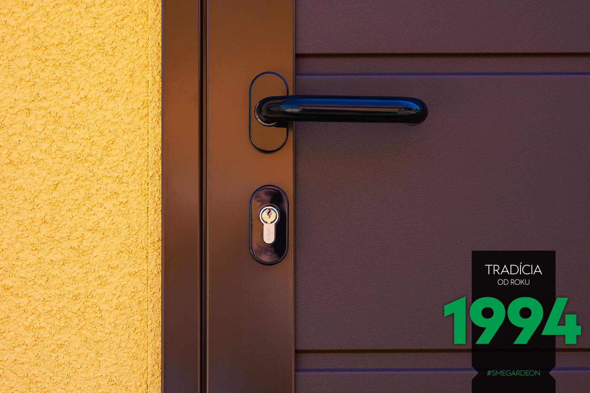 Detail na kľúčku na dvere