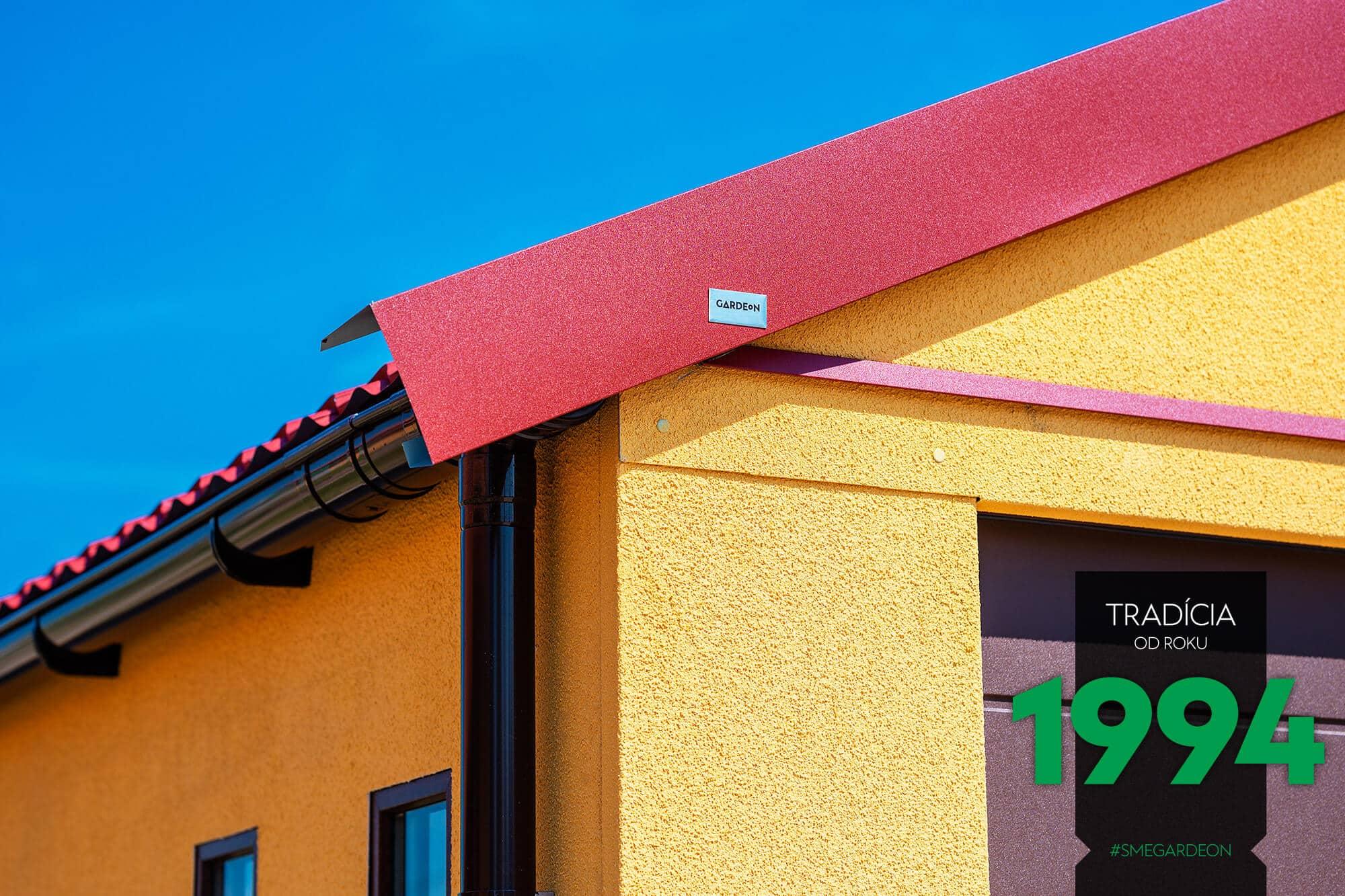Detail na sedlovú strechu
