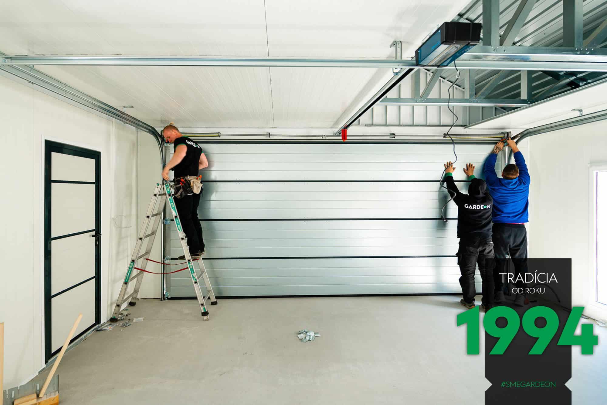Montáž garážovej brány Hörmann