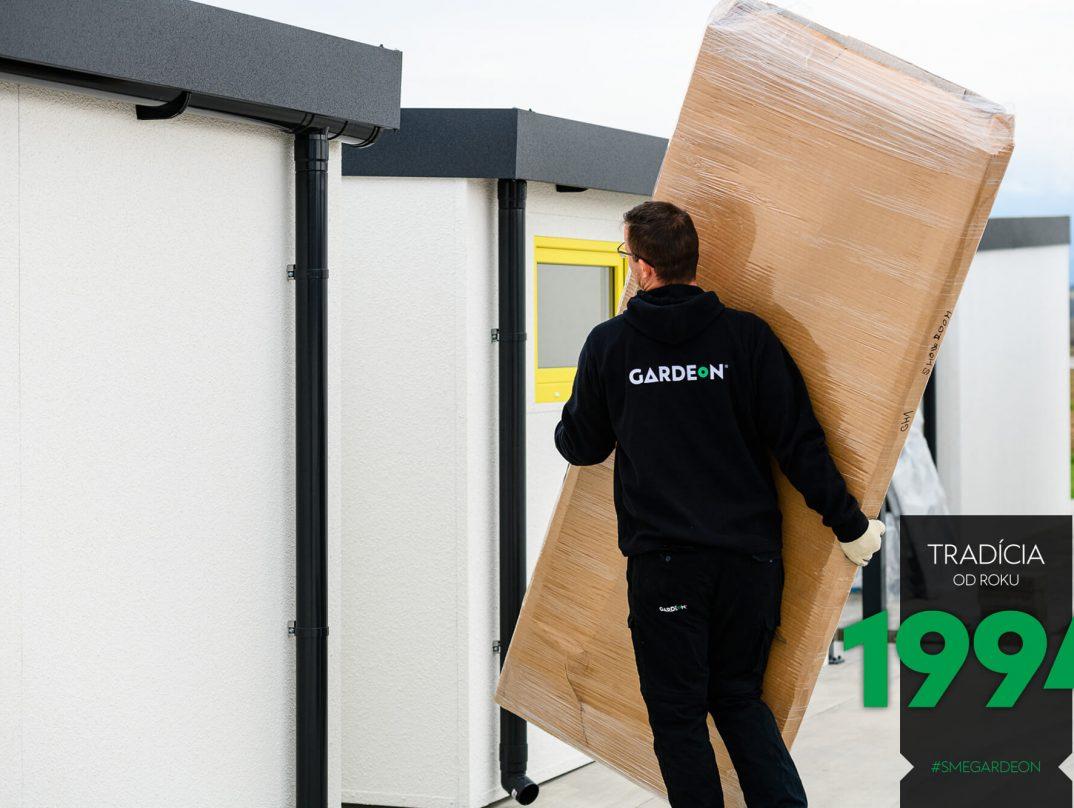 Zabalené dvere GARDEON