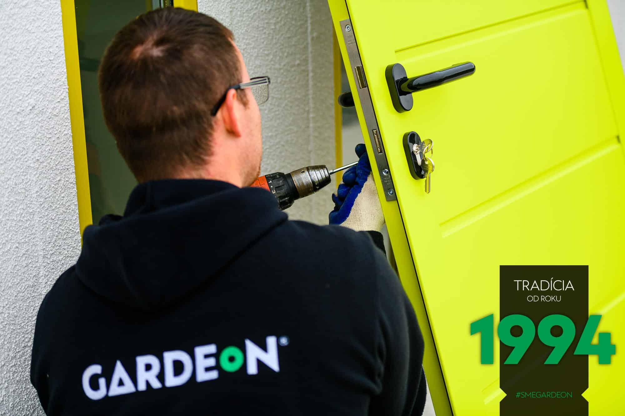 Žlté dvere GARDEON