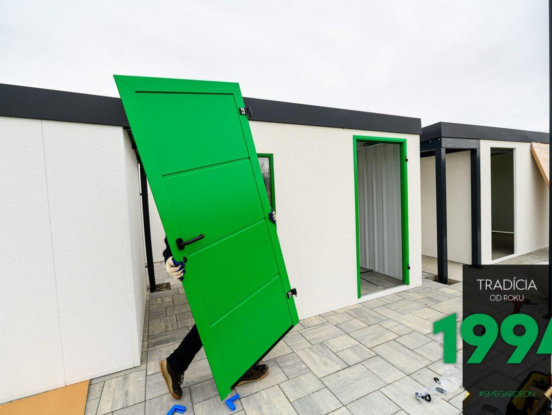 Zelené dvere GARDEON