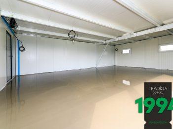 Podlaha v atypickej garáži GARDEON