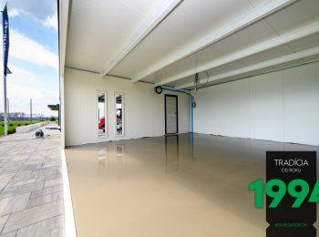 Vnútro atypickej garáže GARDEON