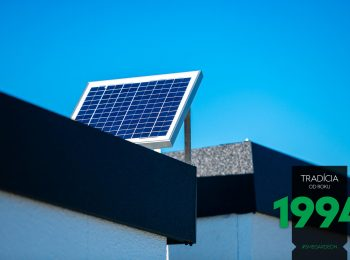 Solárny systém na garáži