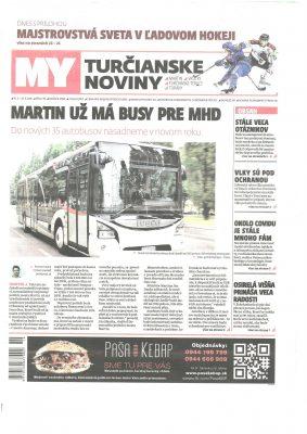 GARDEON v Turčianske Noviny