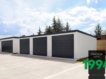 Radová garáž pre tri autá