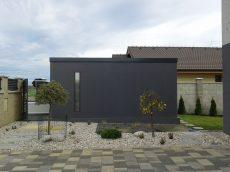 Záhradný domček na náradie s pultovou strechou