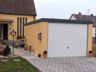 Kukuricová garáž pre jedno auto