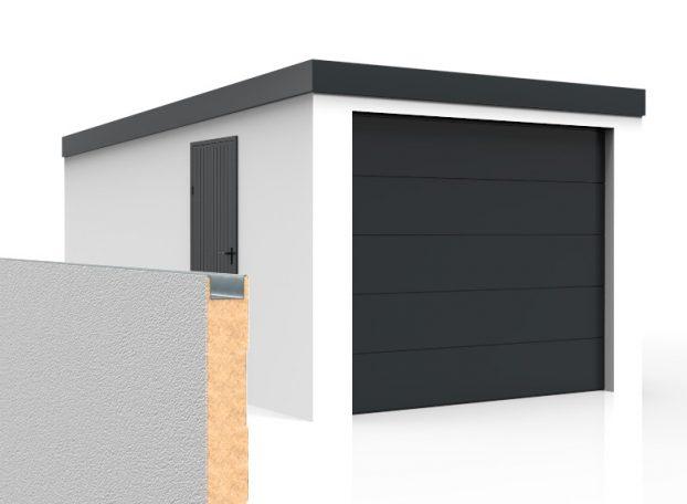 Izolované garáže