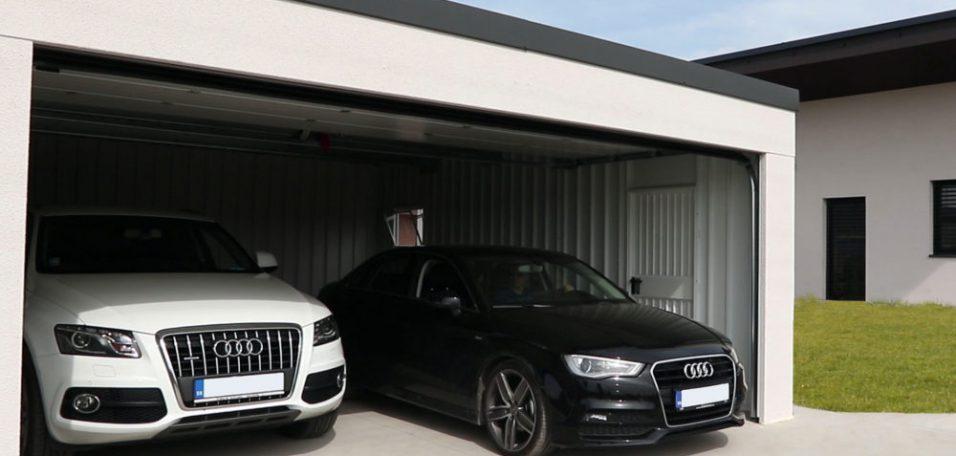 Chcete vidieť hotovú garáž?