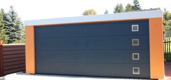 Montovaná oceľová garáž pre dve autá