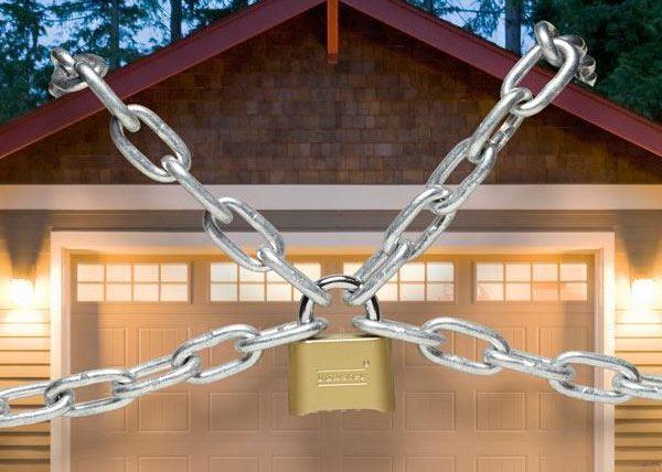 Zabezpečenie garáže proti zlodejom