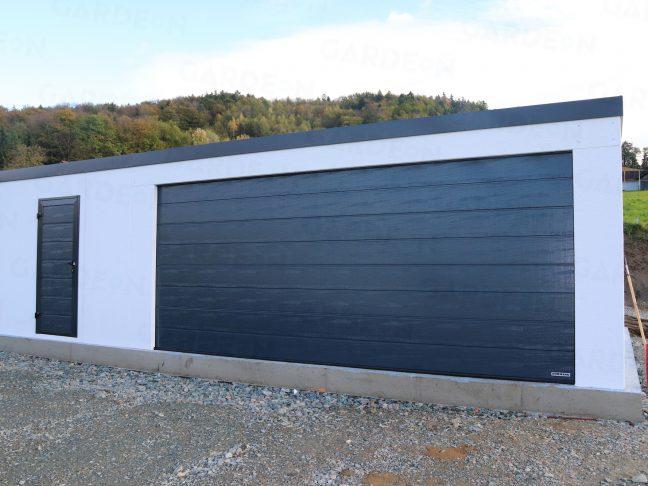 Montovaná garáž pre dve autá na mieru