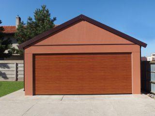 Plechová garáž pre dve autá