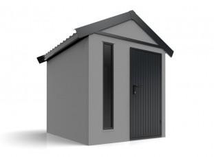 Moderný záhradný domček na náradie