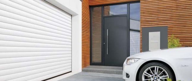 Rolovacia garážová brána Hormann
