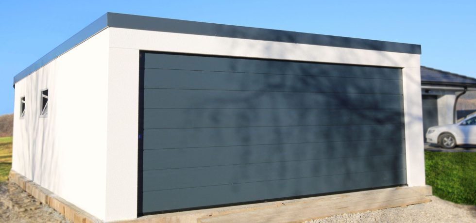 Montovaná garáž pre dve autá