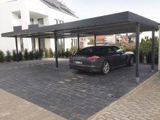 Radové prístrešky pre viac automobilov SIEBAU